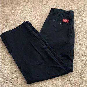 Dickies Roll Hem Work Pants